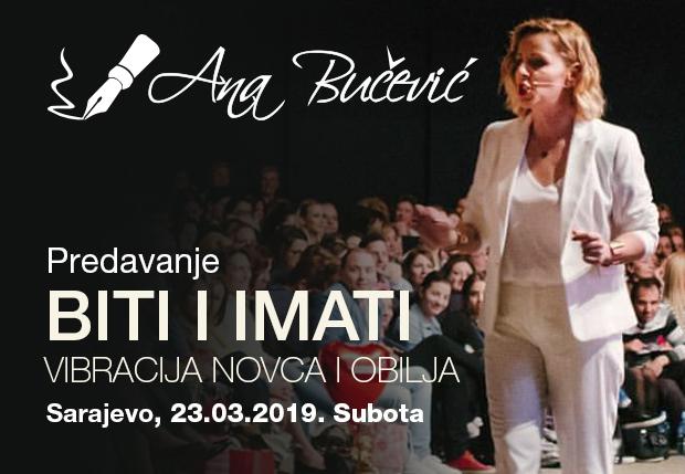 Predavanje BITI I IMATI – Sarajevo 23/03/2019.